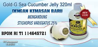 Cara Pemesanan Jelly Gamat Gold-G Sea Cucumber
